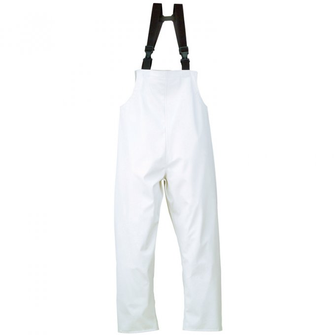 FOOD nepremokavé nohavice s trakmi  8FOOB