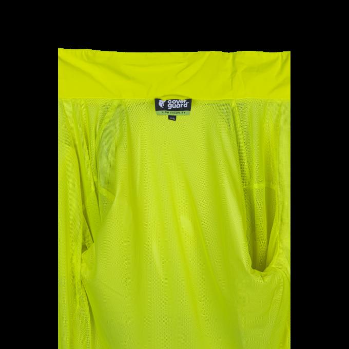 HOTARU žltá softehellová reflexná vetrovka  5HOT160